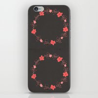 coral blossoms iPhone & iPod Skin