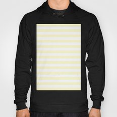 Horizontal Stripes (Cream/White) Hoody