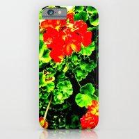 Red Flowers (Edited)  iPhone 6 Slim Case