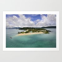 Day Dream Island QLD Art Print