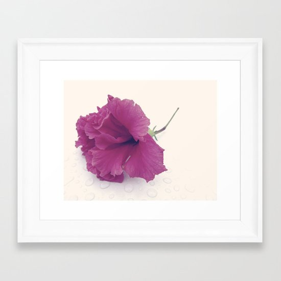 Untouched. Framed Art Print