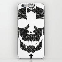 TML SKULLIFASHION iPhone & iPod Skin