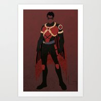 Red Robin Art Print