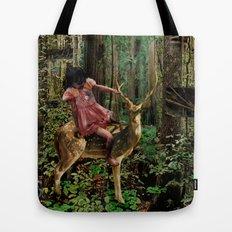 Deerlove | Collage Tote Bag
