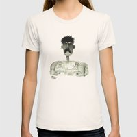 Remember Mary Womens Fitted Tee Natural SMALL