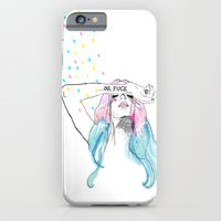 iPhone & iPod Case featuring Oh yeah, reality bites by Tiffany Atkin