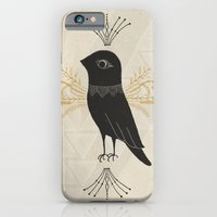 iPhone & iPod Case featuring Black Bird by R. Phillips