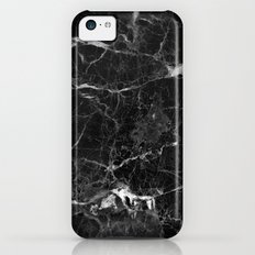 Black Marble iPhone 5c Slim Case