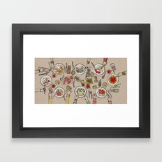 Generations Dinner Framed Art Print