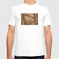 Round 12..manny Pacquiao Mens Fitted Tee White SMALL
