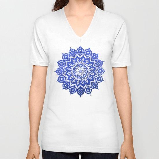 ókshirahm sky mandala V-neck T-shirt