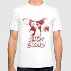 Cheers Gizmo SMALL Mens Fitted Tee White