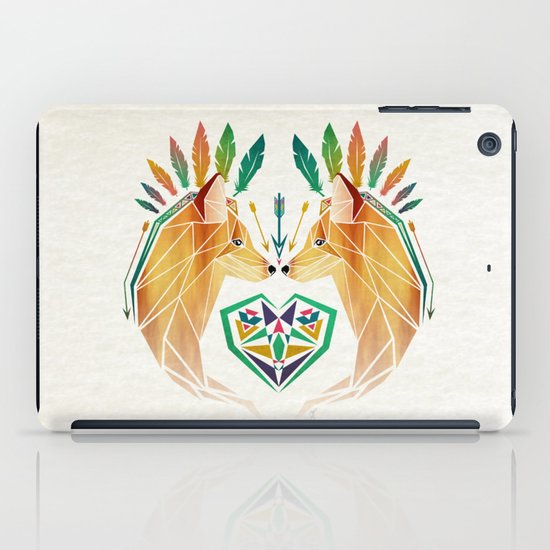 foxes in love iPad Case