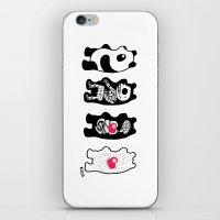 Panda Anatomy iPhone & iPod Skin