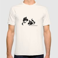 Fish Mens Fitted Tee Natural SMALL