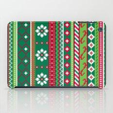 Fair Isle Christmas Pattern iPad Case