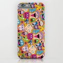 Creepy Smiles Pattern iPhone & iPod Case