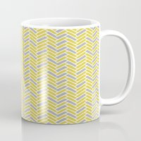 inspired herringbone Mug