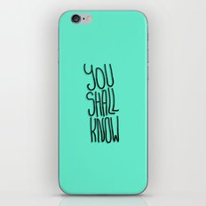 You Shall iPhone & iPod Skin