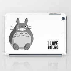 I Love Totoro iPad Case