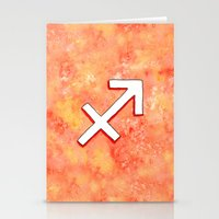 Zodiac Sign : Sagittariu… Stationery Cards