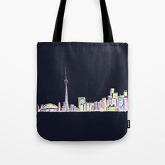 Toronto - Midnight Version Tote Bag