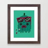 Dracula is my ex-BFF Framed Art Print