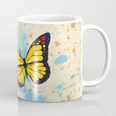 Yellow butterfly Mug