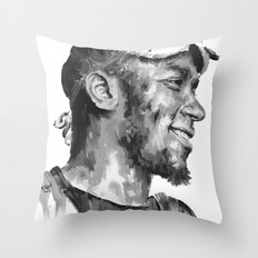 Mos Def Throw Pillow