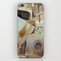 Junqueyard Blues iPhone & iPod Skin