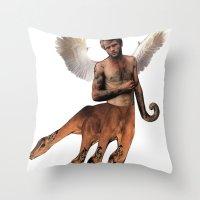 HYDRA PAN Throw Pillow