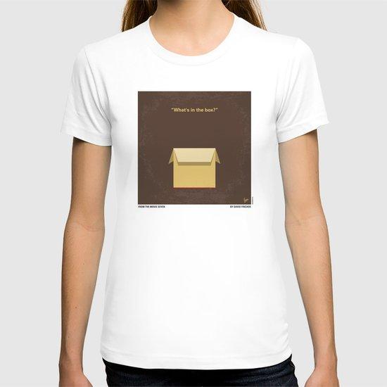 No233 My Seven minimal movie poster T-shirt
