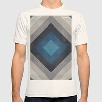 Greece Hues Tunnel Mens Fitted Tee Natural SMALL