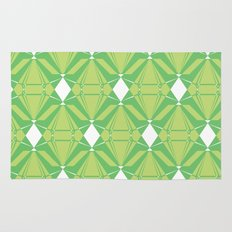 Abstract [GREEN] Emeralds Rug
