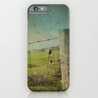 iPhone & iPod Case featuring Wild West Fence  by Angie Johnson