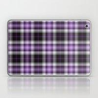Purple Plaid Laptop & iPad Skin