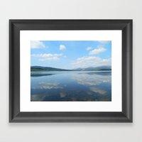 Loch Clatteringshaws SW … Framed Art Print