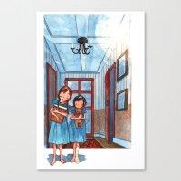 Light At Night 2 Canvas Print