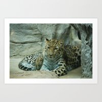 Mom and Baby Art Print