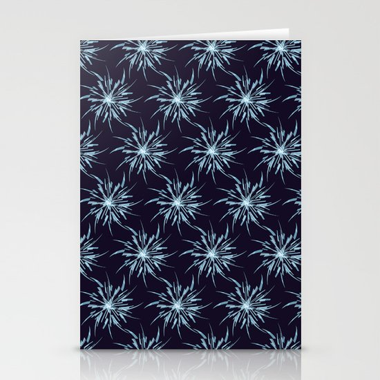 Christmas Snowflakes Stationery Card