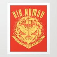 Air Is Peaceful Art Print