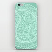 C13 Paisley Pattern iPhone & iPod Skin