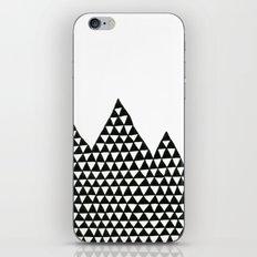 Triangle Peaks iPhone & iPod Skin