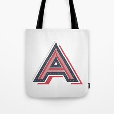 The Letter A Tote Bag