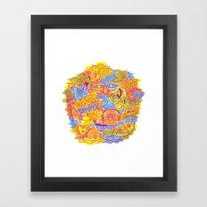 LOL & Order Framed Art Print