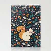 Merry Little Squirrel  Stationery Cards