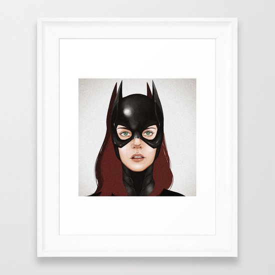 Barbara.  Framed Art Print