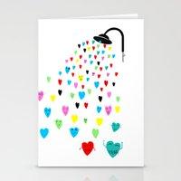 Love Shower Stationery Cards