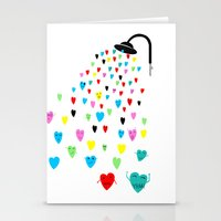 Love Shower Stationery Cards