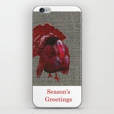 Season's Greetings 02 iPhone & iPod Skin